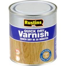 Rustins Quick Dry Satin Varnish 500ml