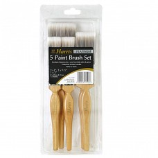 5 Piece Paint Brush Set High Quality