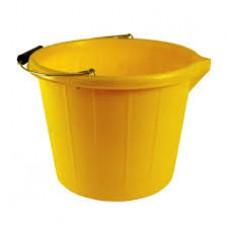 Trade Bucket Yellow 3 Gallon