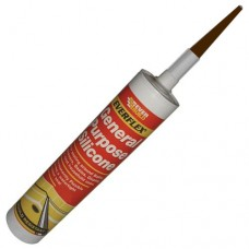 General Purpose Silicone Tube Brown C3 Cartridge