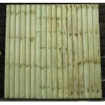 Closeboard Fence Panels 6' (w) x 3' (h) - Green Treated