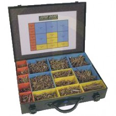 Assorted Screw Presentation Case by Superdrive