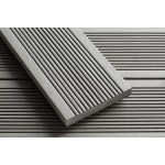 'Q-Deck' Smartboard Composite Decking Battleship Grey 20mm x 138mm x 3.6m