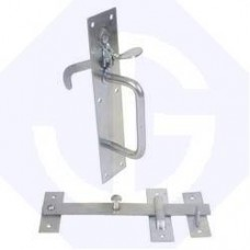 Suffolk Latch No2 BZP Bright Zinc Plated