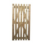 Green Treated Palisade Gate (Linnell) 1800mm x 900mm