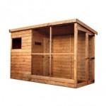 Wooden Aviary 10' x 5'
