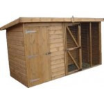 Dog Kennel & Run 10' x 5'