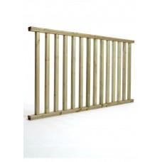'Q-Deck' Classic Ready Made Decking Balustrade 1800mm x 985mm
