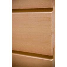 Western Red Cedar Cladding Horizontal U Channel 25mm x 150mm - LT8