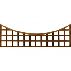 Standard Concave Trellis Top - Green Treated