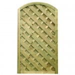 Decorative Madrid Gate 1.8m (h) x 1.0m (w) - Green Treated