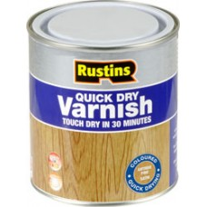 Rustins Quick Dry Gloss Varnish 500ml