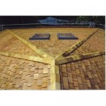 Cedar Roof Shingles - Treated Hip & Ridge