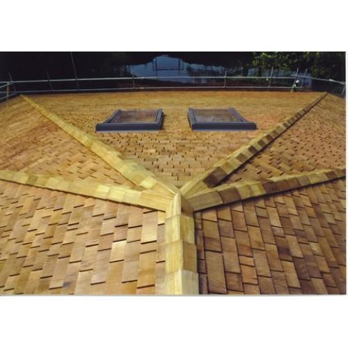 Cedar Roof Shingles Hip Ridge